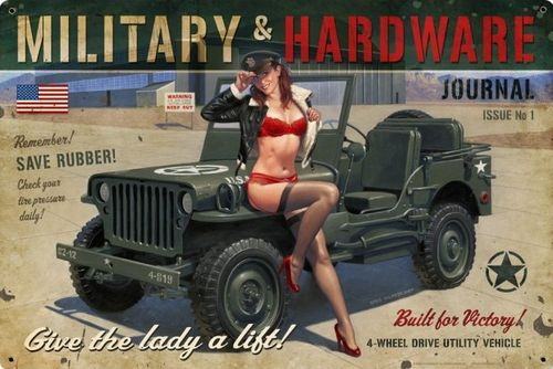 pin up jeep