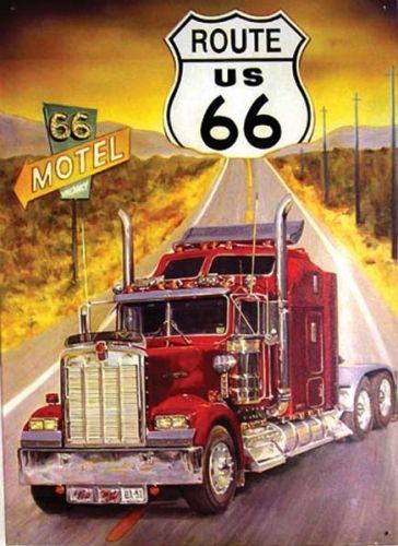 Camion am ricain plaques usa fifties - Dessin de camion americain ...