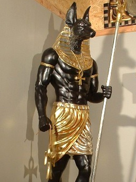 anubis sur socle statues gypte antiquit. Black Bedroom Furniture Sets. Home Design Ideas