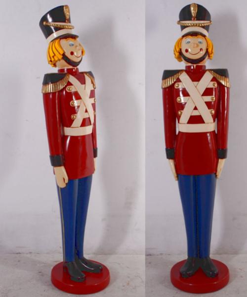 soldat souriant statues no l. Black Bedroom Furniture Sets. Home Design Ideas
