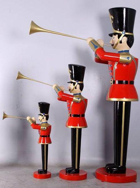 soldat trompette 3 tailles statues no l. Black Bedroom Furniture Sets. Home Design Ideas