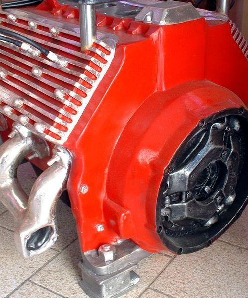 Table Basse Moteur V8 Mobilier Usa Fifties