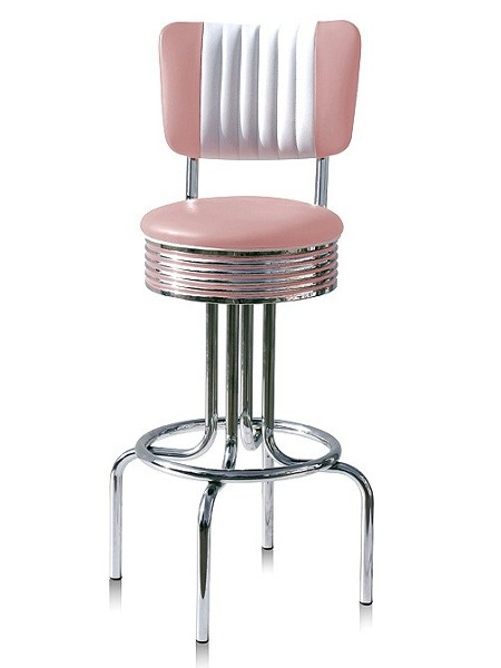 tabouret de bar bs28d mobilier usa fifties