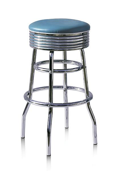 tabouret de bar bs29 mobilier usa fifties. Black Bedroom Furniture Sets. Home Design Ideas