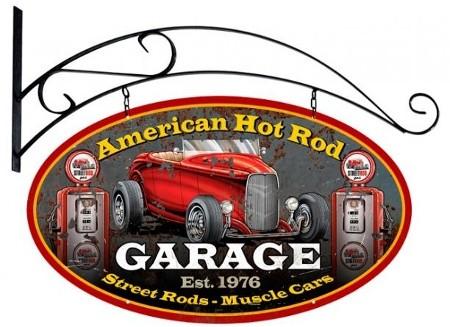 enseigne hot rod garage garage usa fifties
